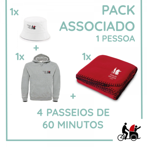 Associated Pack. For 1 person.