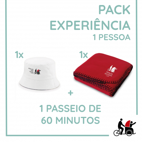 Pack Experience. For 1 person.