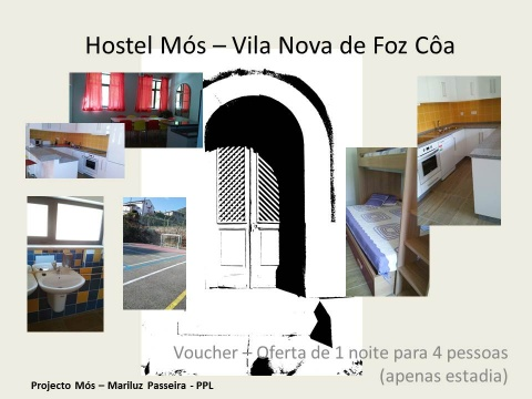 Voucher - Offer of 1 night for 4 people (stay only) in Hostel Mós VLF