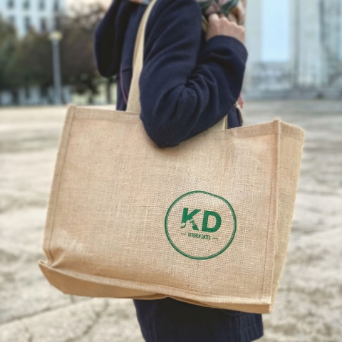Kitchen Dates goodie bag + thank you note on our website