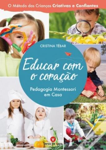 """2 DVDs + 3 Sets Cartões Nomenclatura + Livro """"Educar com o Coração - Pedagogia Montessori em Casa"""""""