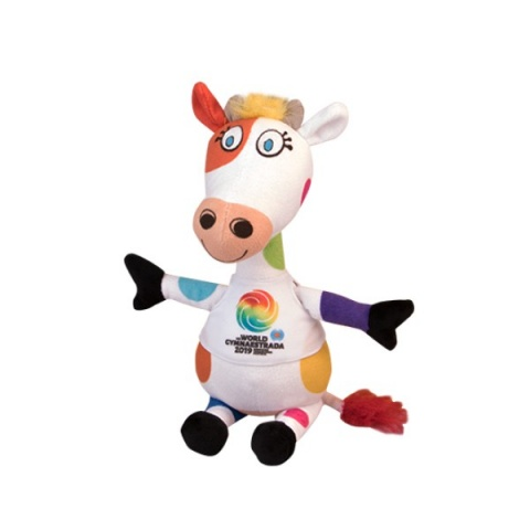 Plush figure mascot Gymnaestrada 2019