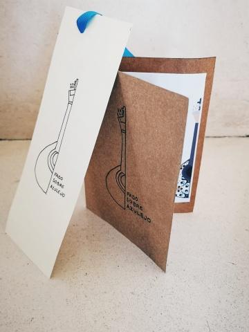 Postal de Agradecimento + Marcador de Livro