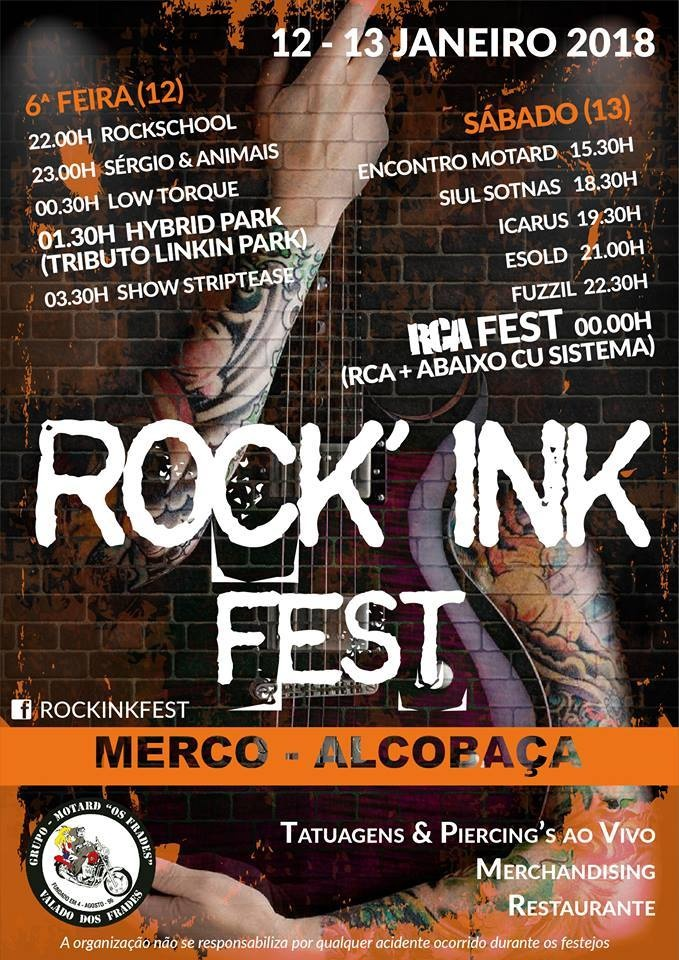 Cartaz ROCK' INK FEST