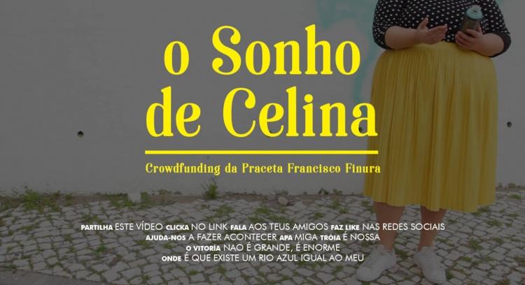 O Sonho de Celina - Mural na Praceta Francisco Finura