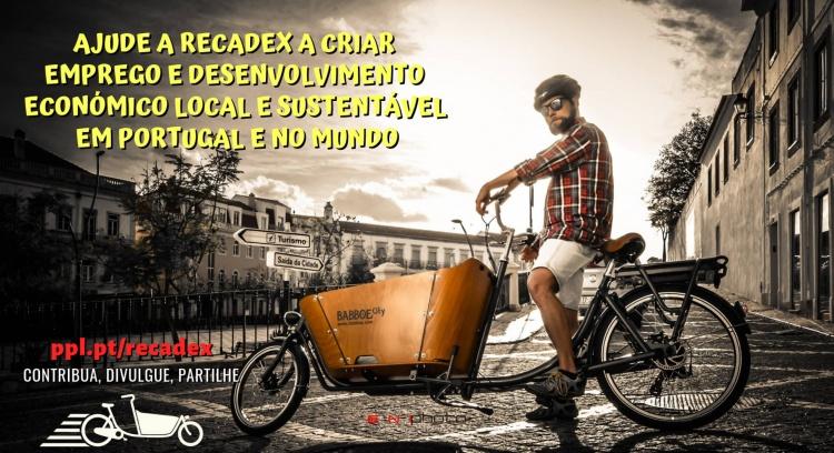 Ajude a Recadex a criar emprego e desenvolvimento económico local e sustentável em Portugal e no mundo!