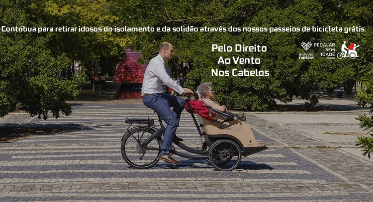 Cycling Without Age Lisbon - The right to wind in your hair