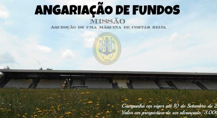 Angariação de Fundos - Aquisição de uma Máquina de cortar relva (Estádio Mário Duarte, Aveiro)