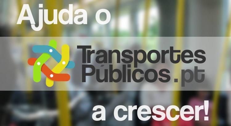 Ajuda o Transportes Públicos.pt a crescer!