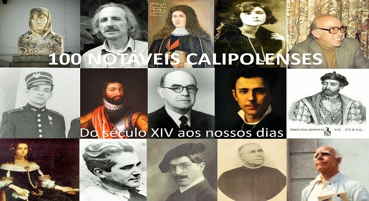 100 NOTABLE CALIPOLENSES - From the fourteenth century to the present day