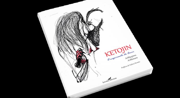 """""""Ketojin, o negociante de amor"""" - Poesia e ilustração"""