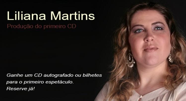 Gravação do Primeiro CD -  Liliana Martins
