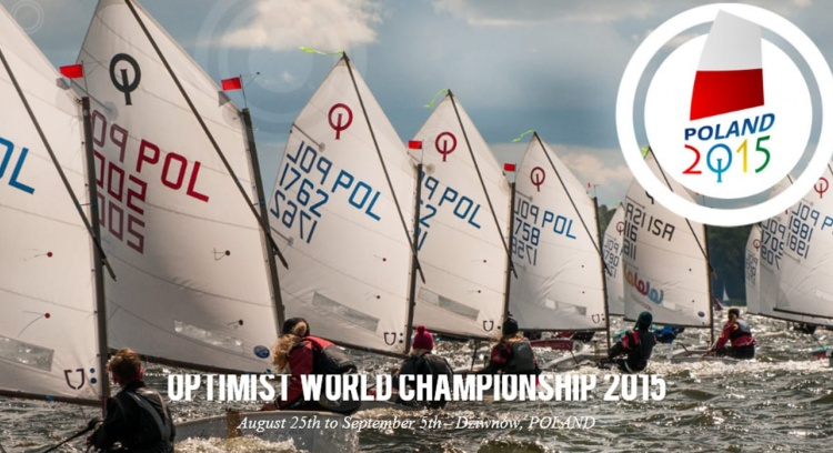 Participation in the World Championship Sailing Optimist Poland 2015