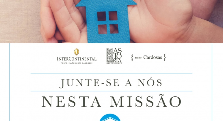 Equipa do InterContinental Porto apoia Associação CASA