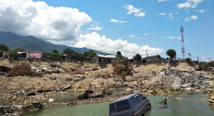 Ajudar Sulawesi - Apoio urgente após o Sismo e Tsunami na Indonésia