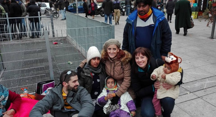 Portuguese mission on Greece With refugees