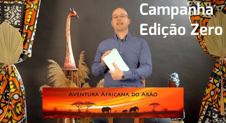 AventurAfricana do Arão. Zero edition of the book.