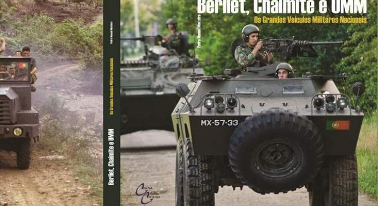 "Book ""Berliet, Chaimite and UMM - The Great Portuguese Military Vehicles"""