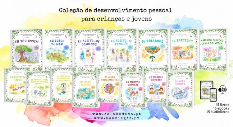 Coleção de desenvolvimento pessoal para crianças e jovens