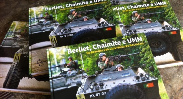 """Livro """"Berliet, Chaimite e UMM"""" 2ª edição"""