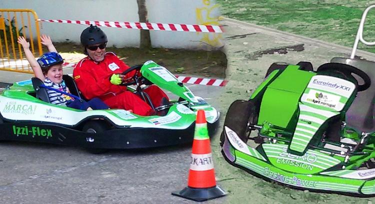 Construção do 1º Ecokart Junior