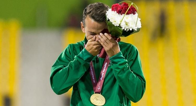 Apoio ao Atleta Paralímpico Mais Medalhado do Mundo
