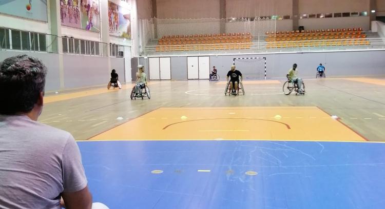 Handball Team Van Adapted from Clube Naval Setubalense