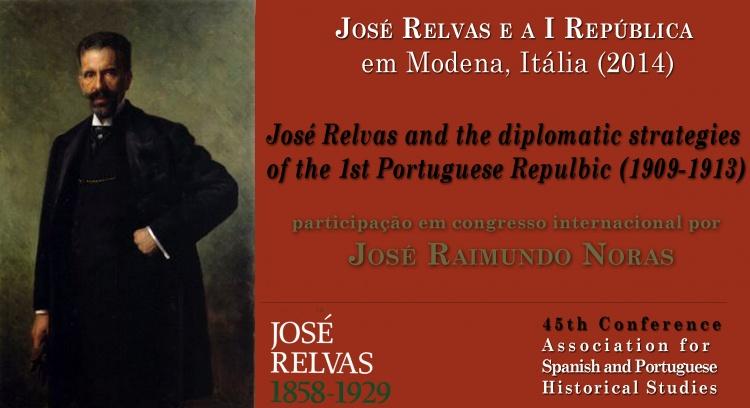 """""""José Relvas e a I República"""" em Modena 2014"""