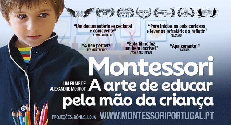 """Documentário """"Montessori: a Arte de Educar pela Mão da Criança"""""""