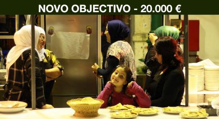 Um restaurante do Médio Oriente para a integração de refugiados