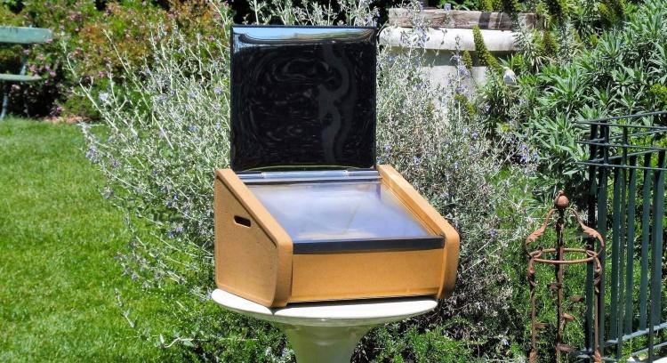 Suntaste solar oven
