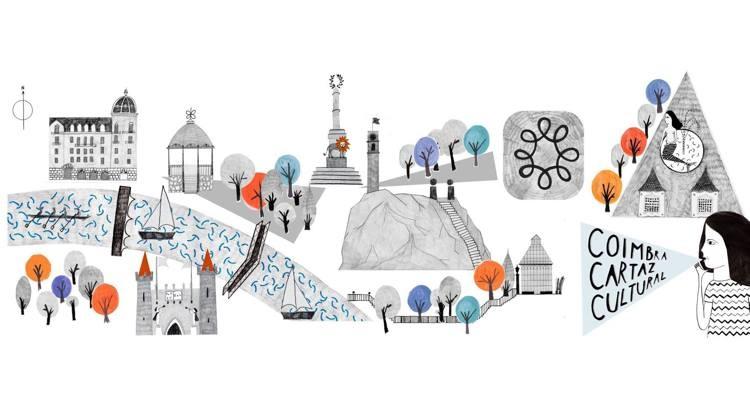 CCC - agenda de eventos de Coimbra, mapas, postais e tote bags