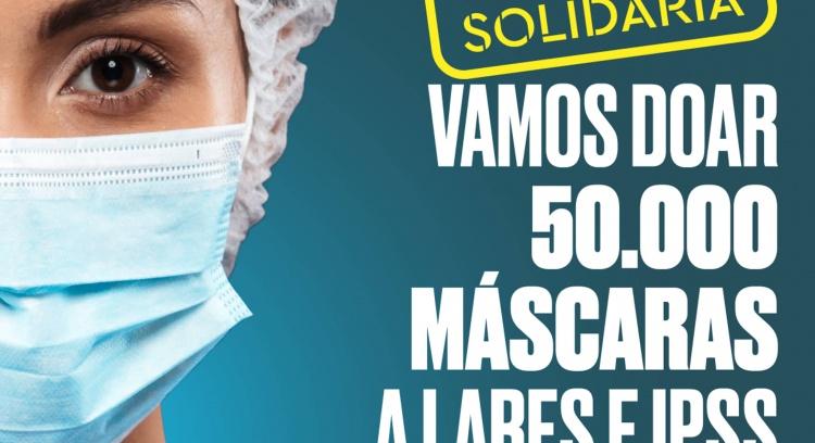 Máscaras para todos! Operação Máscara Solidária