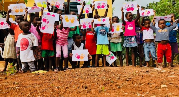 Ajuda-nos a criar um pré-escolar para as crianças da ilha do Príncipe