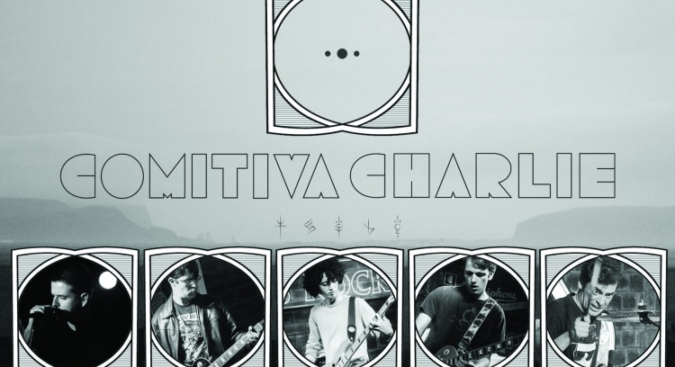 Comitiva Charlie - Edição e lançamento de um álbum de rock em português