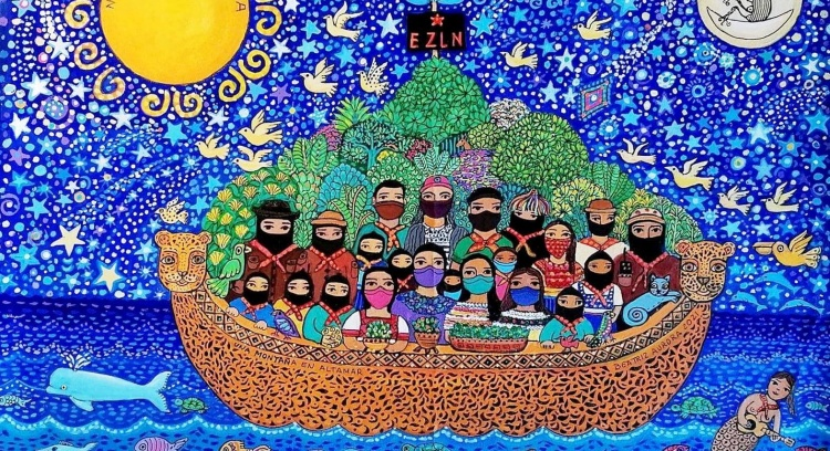 Caravana Zapatista em Portugal