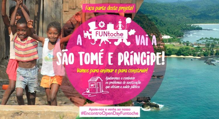 A FUNtoche vai a São Tomé!