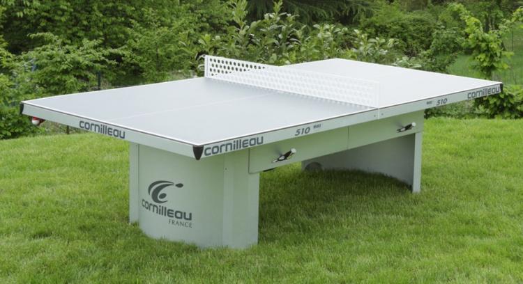 Uma mesa de ping pong para exterior ppl for Mesa ping pong exterior