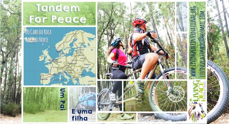 Do Cabo da Roca ao Cabo Norte em bicicleta por um mundo melhor