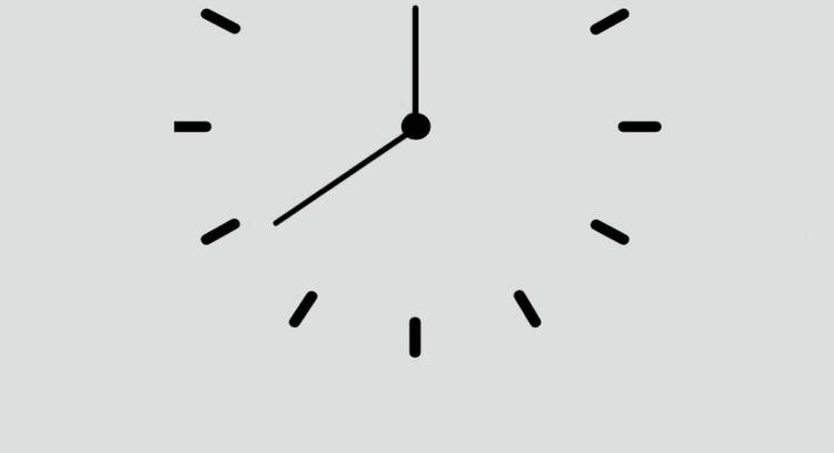 21 minutos para a meia-noite