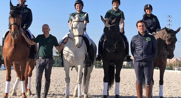 Cavaleiros de Paradressage no Europeu 2019 - Cavalgar até Tokyo 2020