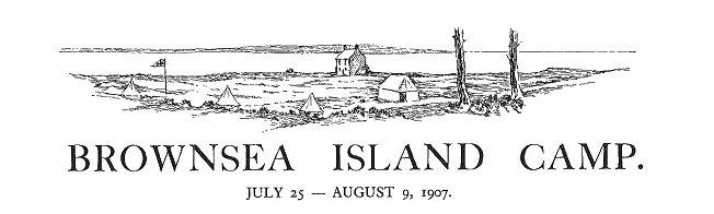 Brownsea island scout camp